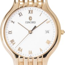 Concord Yellow gold 32mm Quartz 28-14-268 pre-owned