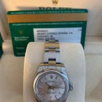 Rolex Oyster Perpetual 26 usados 26mm Plata Acero