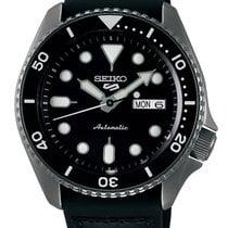 Seiko 5 Sports Steel 43mm Black