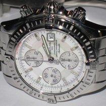 Breitling Chronomat Evolution Acero 43mm Madreperla Sin cifras
