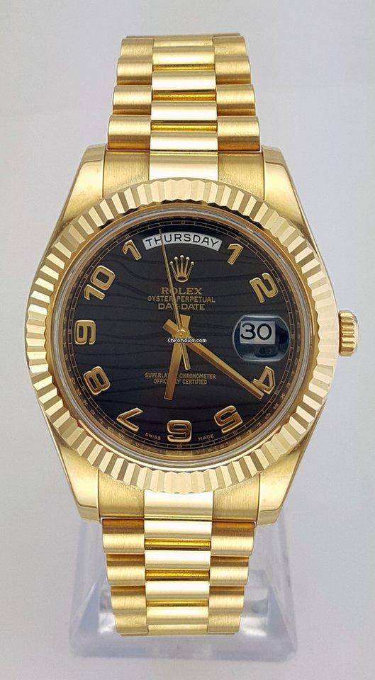 Rolex (ロレックス) デイデイト II 218238 bkwap 2012 中古