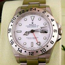 Rolex Chronometer 40mm Automatisch 2016 nieuw Explorer II Wit