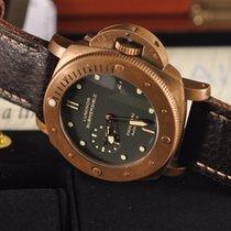 Panerai Bronze Remontage automatique Vert Sans chiffres 47mm occasion Special Editions