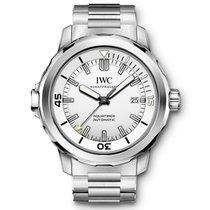 IWC Aquatimer Automatic Stahl 42mm Silber