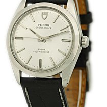 Tudor Certified Pre-Owned Gent's Stainless Steel Rolex-...