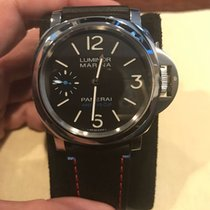 Panerai Special Editions Steel 44mm Black Arabic numerals United States of America, New York