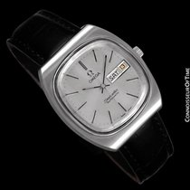 Omega c. 1983 Seamaster Vintage Mens TV Watch, Automatic, Day...