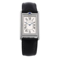 Cartier Stainless Steel Basculante Manual Wind Wristwatch Ref...