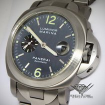 Panerai Luminor Marina Titanium Anthracite Dial 44mm Mens...