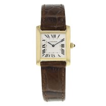 Cartier Tank Francaise 1821 18K Yellow Gold Quartz Ladies Watch