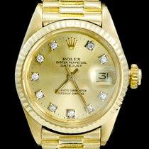 Rolex Lady-Datejust occasion 26mm Or jaune