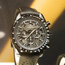 Omega Speedmaster Professional Moonwatch Ceramic 44,25mm Silver No numerals