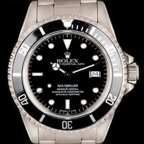 Rolex Sea-Dweller Steel 40mm Black No numerals United Kingdom, London