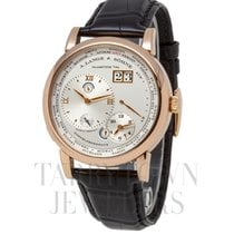 A. Lange & Söhne Lange 1 Rose gold 42mm Silver Roman numerals United States of America, New York, Hartsdale