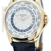 Patek Philippe World Time tweedehands 39mm Roségoud