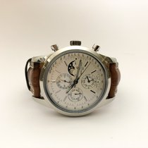 Breitling Transocean Chronograph 1461 Acero 43mm Plata