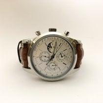 Breitling Transocean Chronograph 1461 Acier 43mm Argent