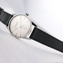 NOMOS Zürich Steel 39.7mm White No numerals United States of America, New Jersey, Princeton