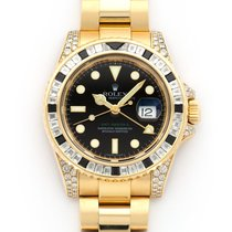 Rolex 116758SANR Yellow gold GMT-Master II 40mm