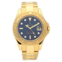Rolex Yacht-Master Yellow gold 35mm Blue No numerals United Kingdom, Liverpool