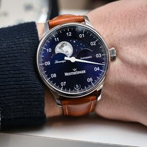 Meistersinger Steel 40mm Automatic LS908 new