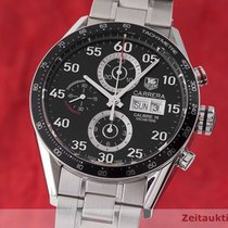 TAG Heuer Carrera Calibre 16 Stål 43.5mm Sort