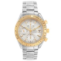Omega Speedmaster Date Gold/Steel 40mm Silver United States of America, Georgia, Atlanta