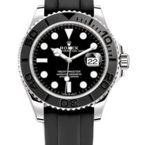 Rolex Yacht-Master 42 White gold 42mm Black No numerals United States of America, California, Los Angeles