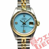 Rolex pre-owned Automatic 26mm Blue Sapphire Glass 10 ATM