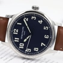 Patek Philippe Calatrava Steel 42mm Blue Arabic numerals
