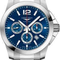 Longines Conquest Steel 44mm Blue United States of America, California, Moorpark