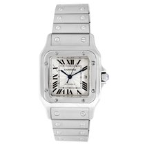 Cartier Steel 29mm Automatic Santos Galbée pre-owned Canada, Vancouver