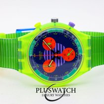 Swatch Plastic 36mm Quartz SCJ100 new