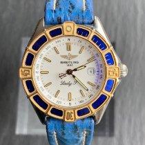 Breitling Lady J Gold/Stahl 31mm Weiß Keine Ziffern