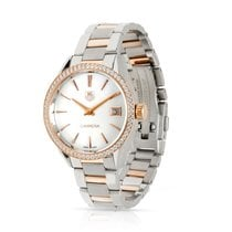TAG Heuer Carrera Lady Staal 32mm Wit