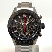 TAG Heuer Carrera Calibre HEUER 01 new 2019 Automatic Chronograph Watch with original box and original papers CAR2A1W.BA0703