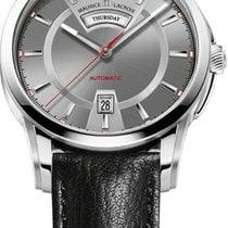 Maurice Lacroix Pontos Day Date nuevo Reloj con estuche y documentos originales PT6158-SS001-231-1
