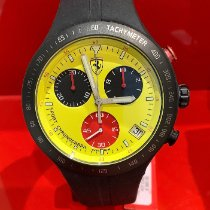 Scalfaro Titane 42mm Quartz 01-YW, Ferrari, PIT CREW nouveau