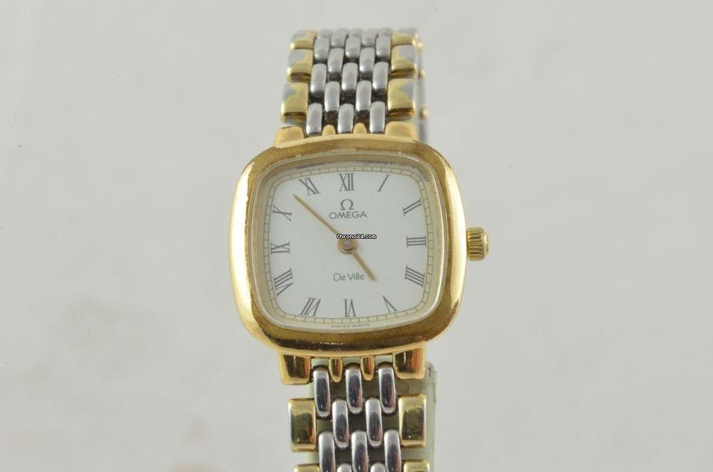 De Ville Uhr Damen 22mm Quartz Vintage Omega For338 R4j5A3L