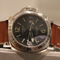 Panerai Luminor GMT Automatic Steel 44mm Black United States of America, New York, New York