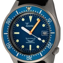 Squale Steel 42mm Automatic 1521-026M-BLR new United States of America, Texas, Austin