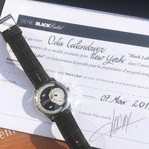 F.P.Journe Octa pre-owned 40mm Black Date Weekday Month Crocodile skin