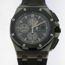 Audemars Piguet Royal Oak Offshore Chronograph Titane 44mm Gris Sans chiffres