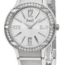 Piaget White gold Quartz Silver new Polo