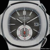 Patek Philippe Ref# 5980/1A, black dial, Nautilus, Chronograph