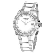 Longines Conquest White Ceramic  L32800877