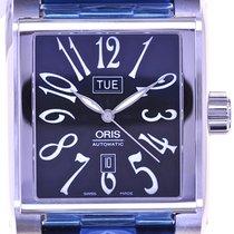Oris Mans Automatic Wristwatch Miles Rectangular