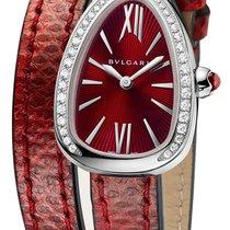 Bulgari Serpenti Steel 27mm Red