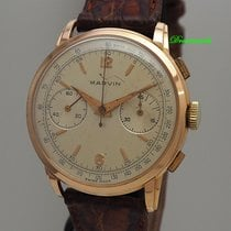 Marvin Rose gold 39mm Manual winding pre-owned