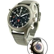 IWC 379901 Pilot Double Chronograph Top Gun - Ceramic/Titanium...